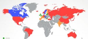 Десятка стран, где запрещены онлайн казино