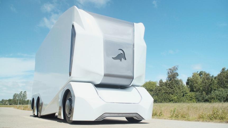 Первые в мире регулярные рейсы автономных электрогрузовиков (электромобили)