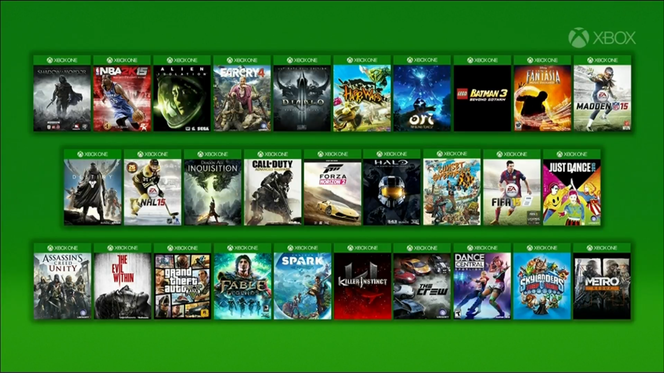 10 самых удивительных игр для Xbox One