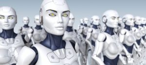 Робот проповедует Буддизм