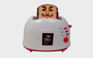 странных гаджетов – селфи тостер