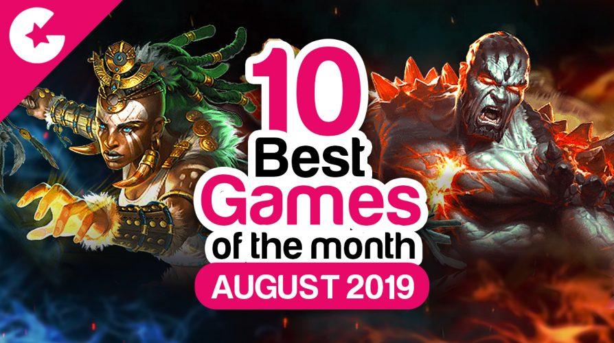 Топ 10 лучших игр для Android за август 2019