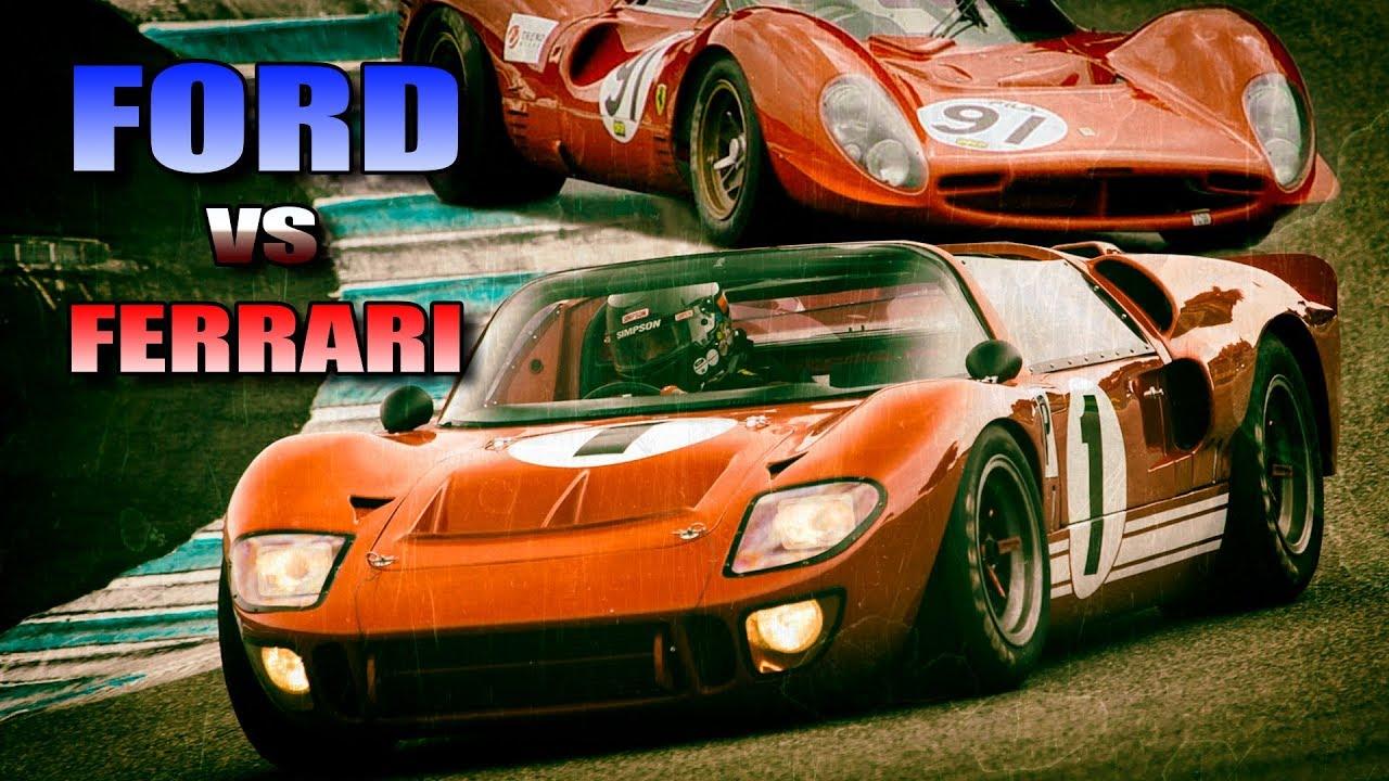 Ford против Ferrari Форд против Феррари