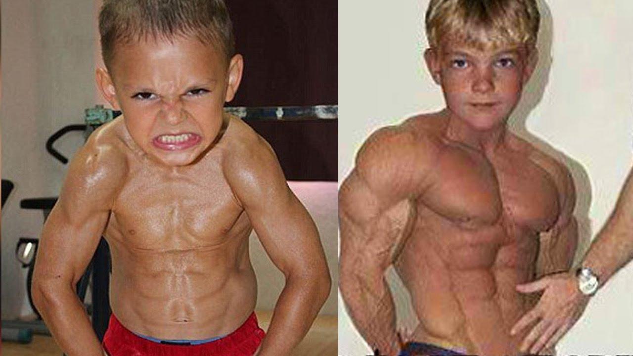 Самые сильные дети спортсмены на планете