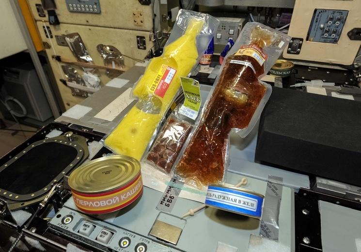 3 мифа о пище космонавтов. Современная пища космонавтов