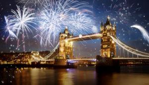 Англия Новый год