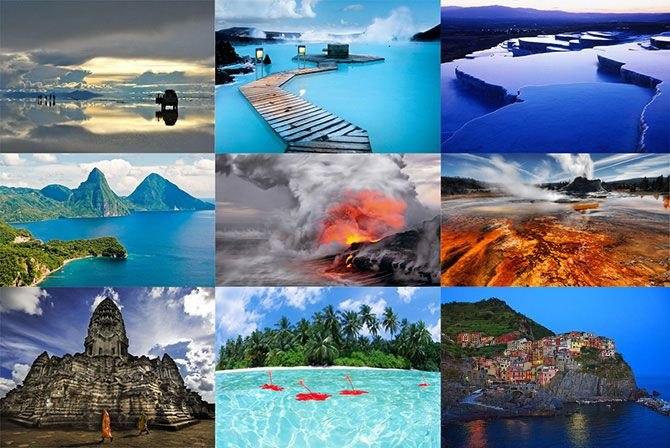 5 самых сказочных мест на Земле! Самые прекрасные места для туризма