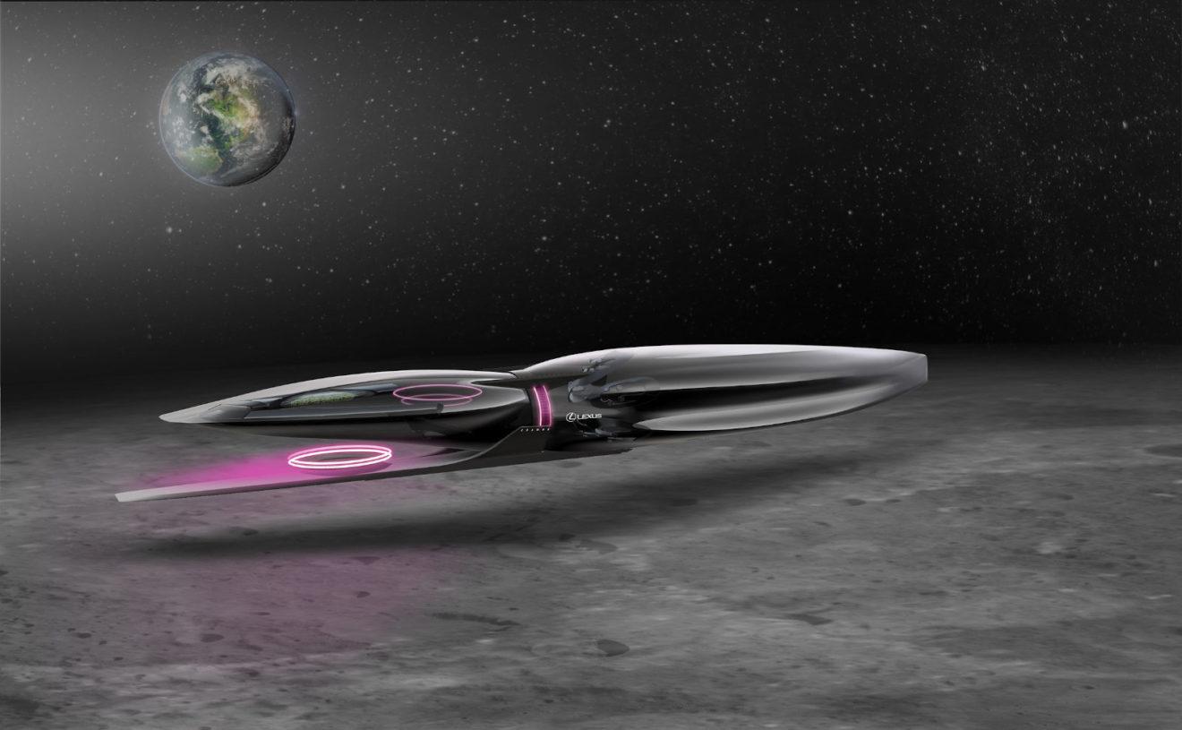Lexus представляет космические аппараты для людей на Луне