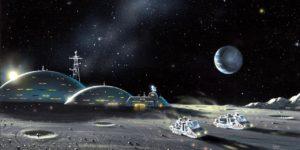 Будущие космические аппараты для людей на Луне