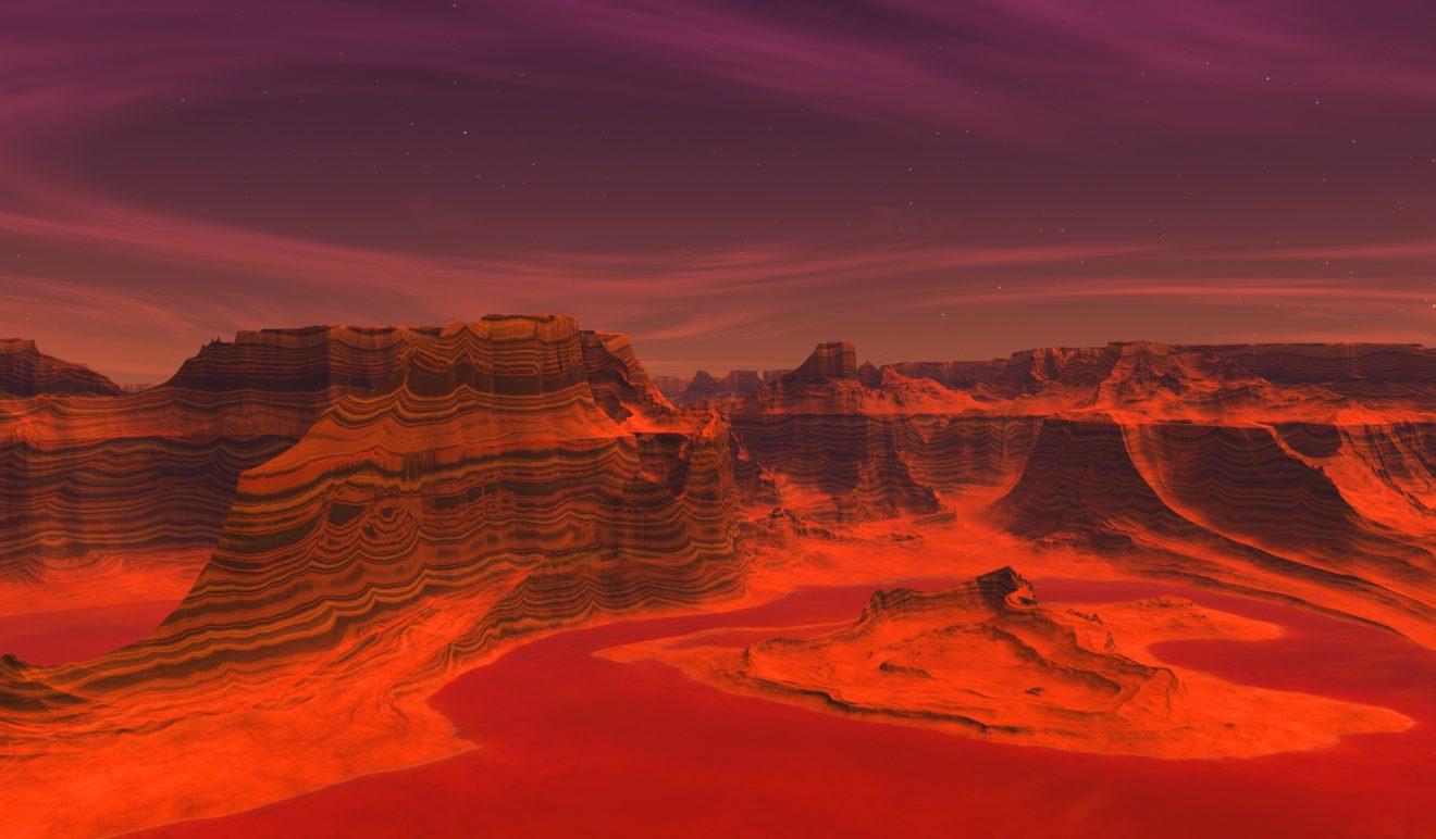 Марс – фантастические фильмы про красную планету.