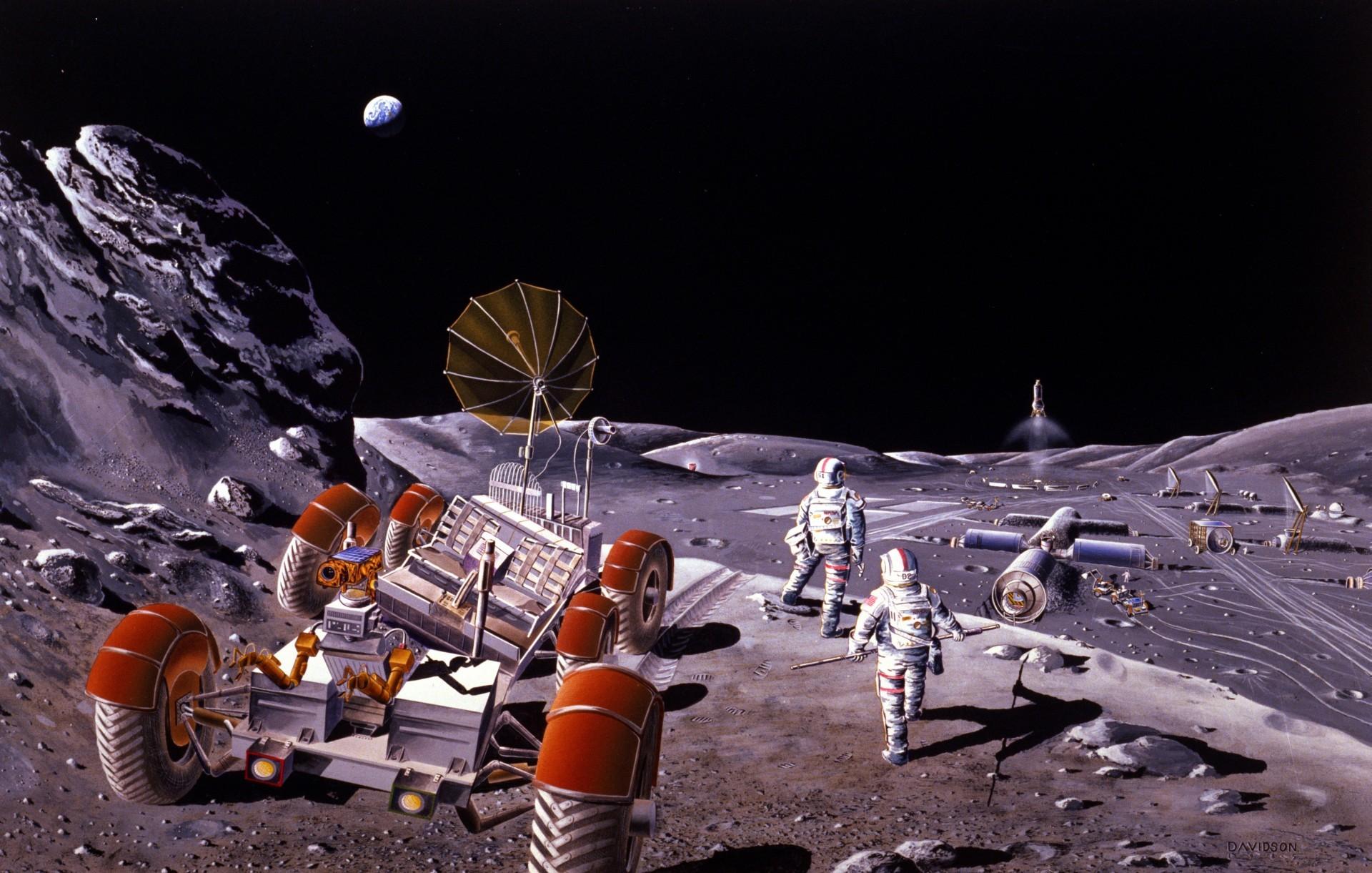Россия планирует построить на Луне телескопы для защиты от астероидов
