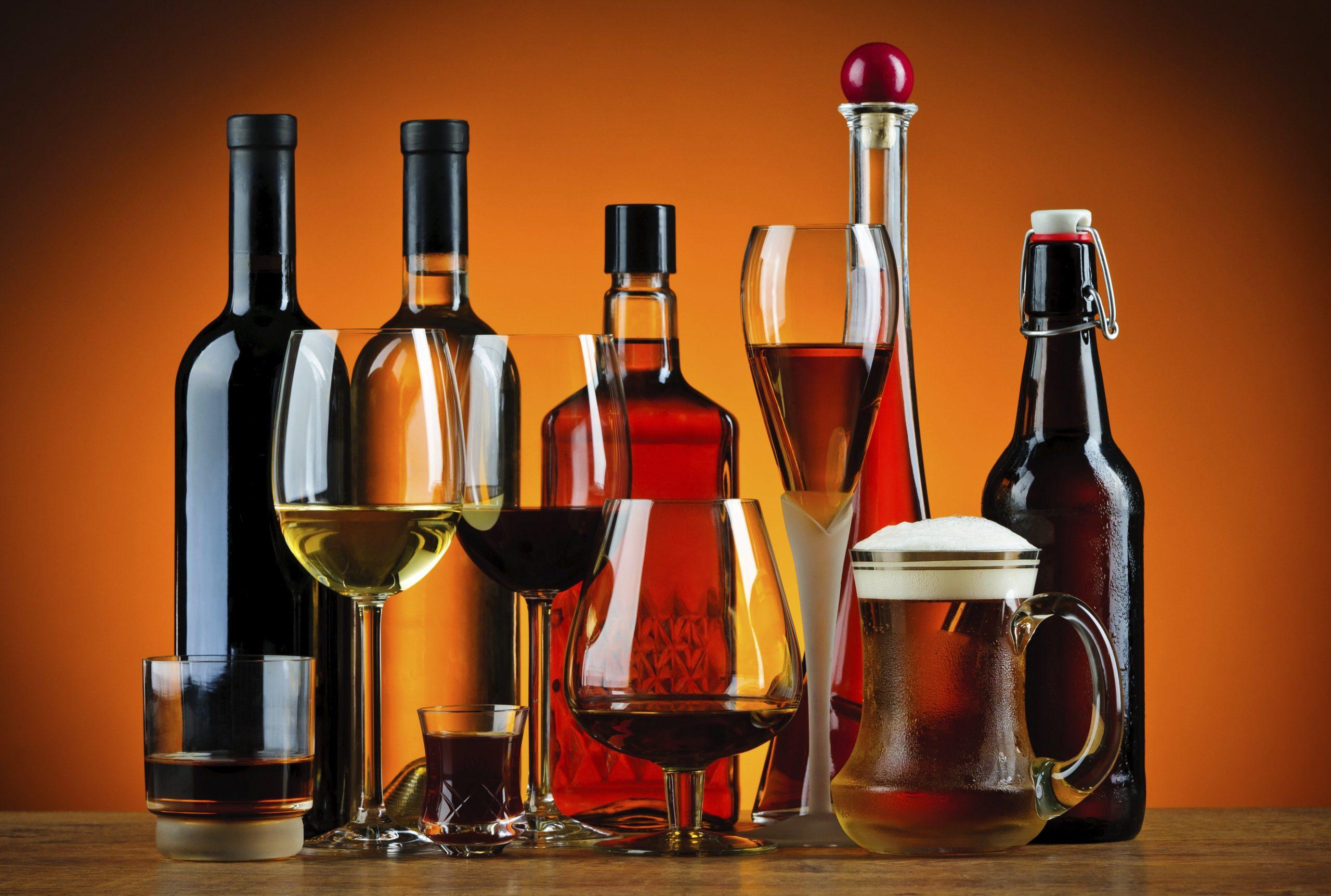 Список самых популярных алкогольных напитков