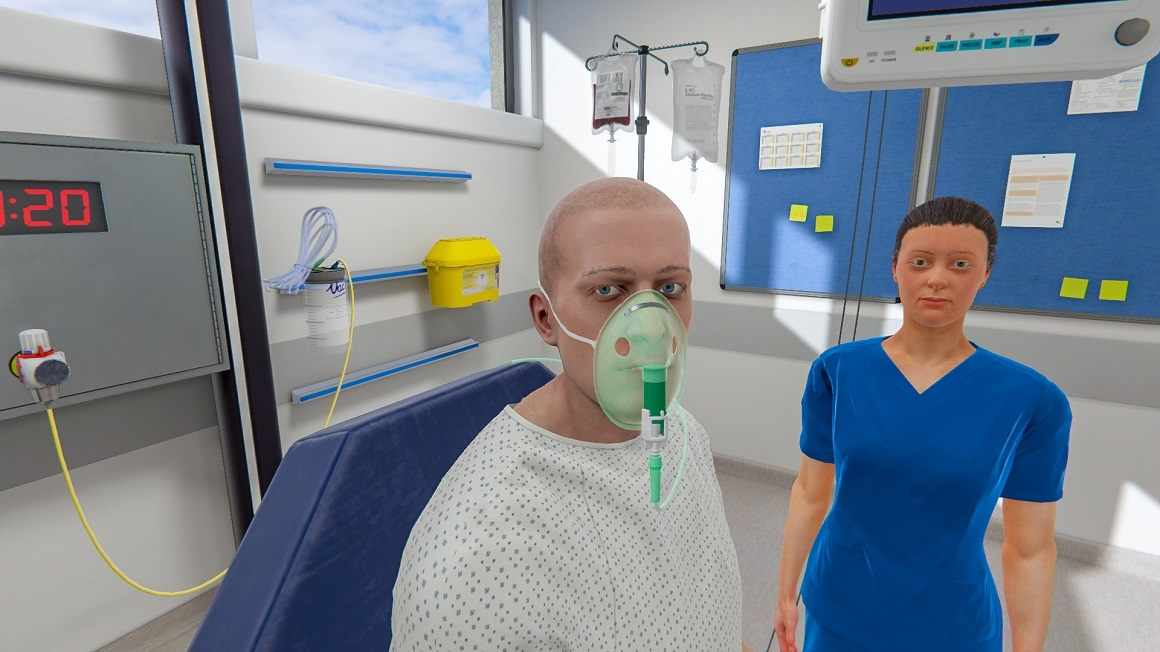 MDX инвестирует в передовые технологии. Первые больничные палаты виртуальной реальности для студентов медиков