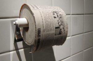 Туалетная бумага и история её создания