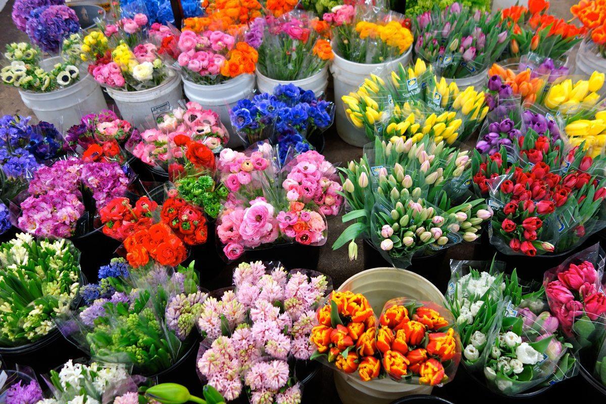 Цветы лучше покупать в интернет-магазине. Каковы плюсы?