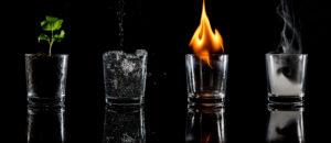 Какой водой лучше гасить огонь