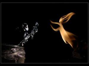 Какой водой лучше гасить огонь.
