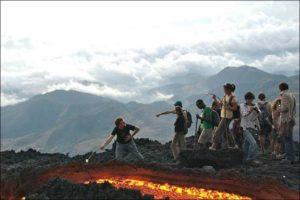 Опасные туристические маршруты вулкан Пакая