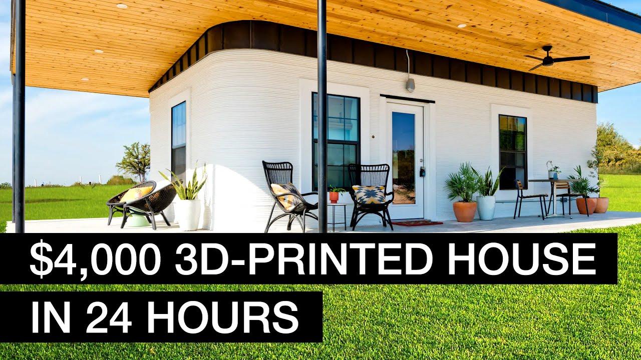 3D-принтер построил целый город! Новые интересные технологии!