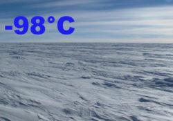 Зафиксирована самая низкая температура воздуха