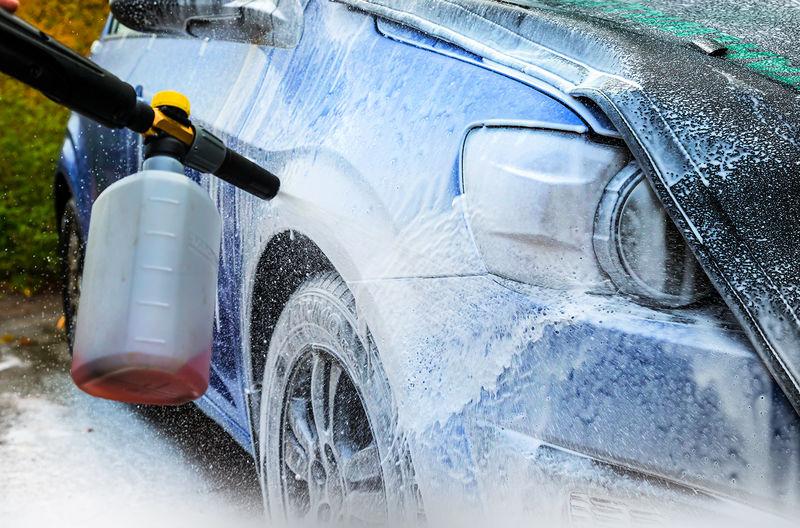 Как выбрать шампунь для бесконтактной мойки автомобиля?