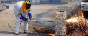Кислородная резка бетона