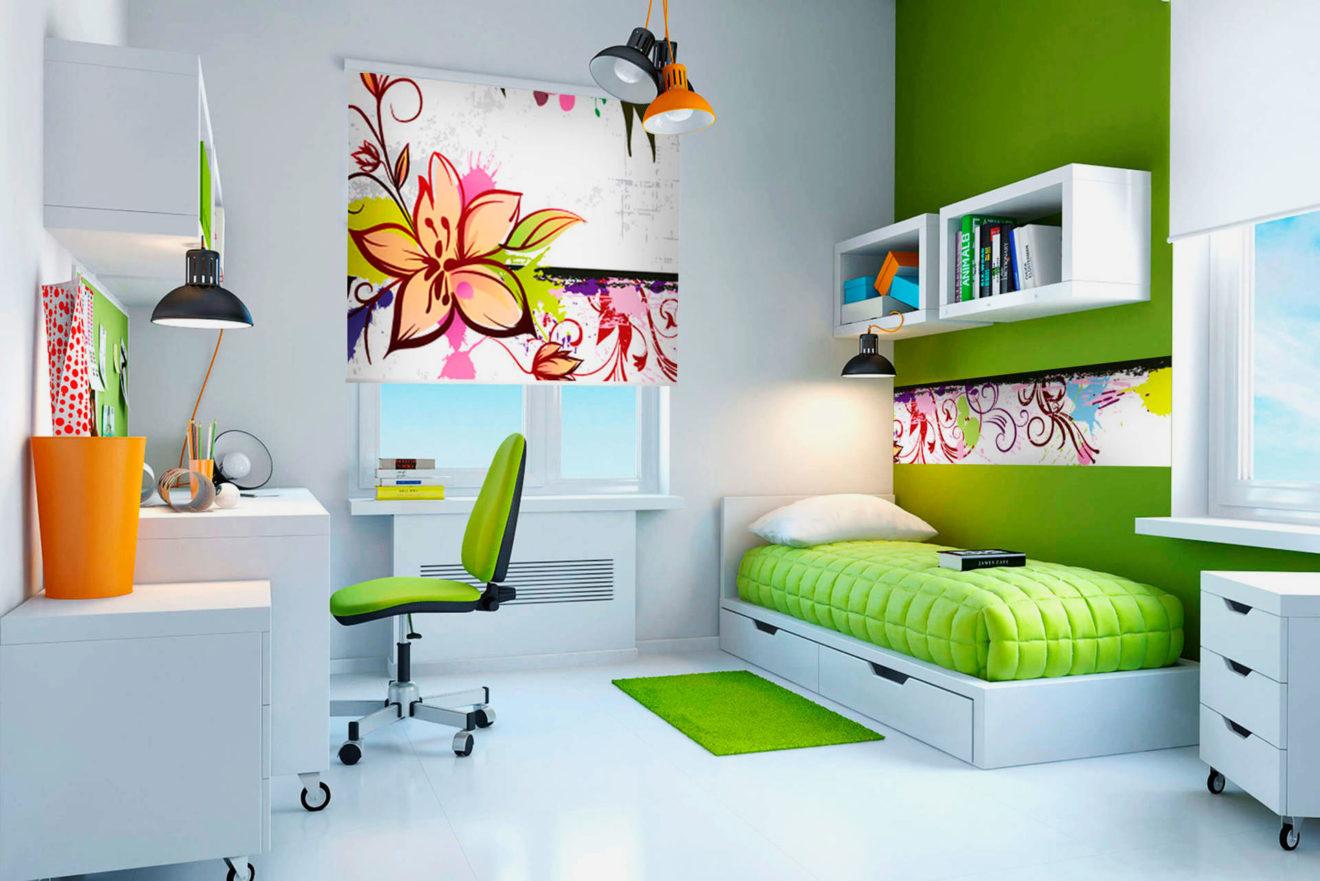 Быстрое и дешевое оформление детской комнаты