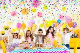 Как правильно организовать детский праздник