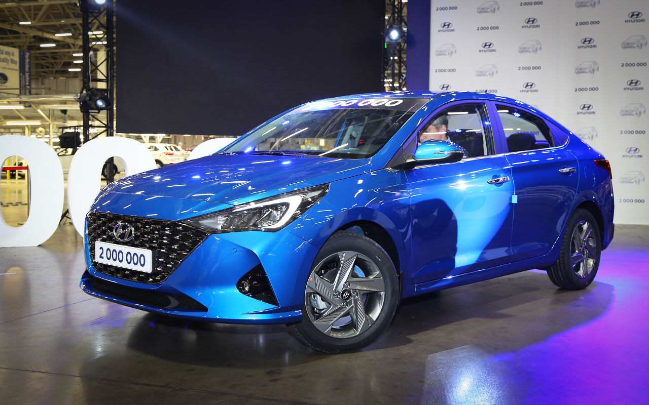 Обзор бюджетного автомобиля Hyundai Solaris