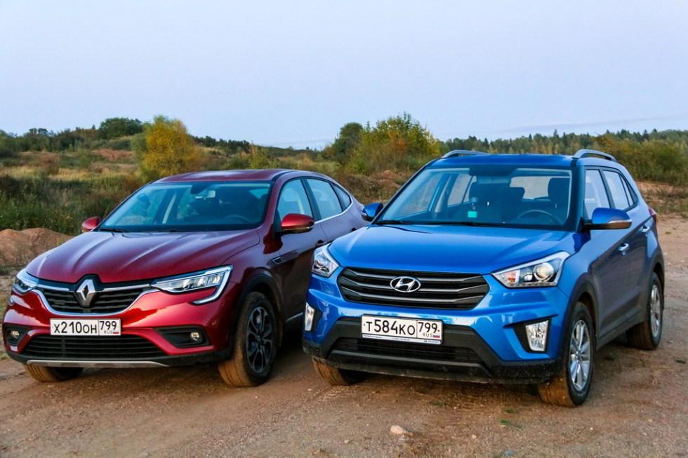 Обзор машин Hyundai и Renault Arkana