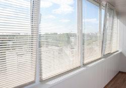 Жалюзи на пластиковые и алюминиевые окна