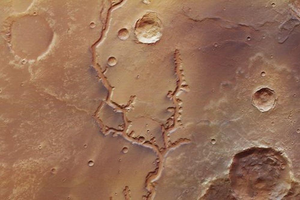 присутствия воды на Марсе была фотография