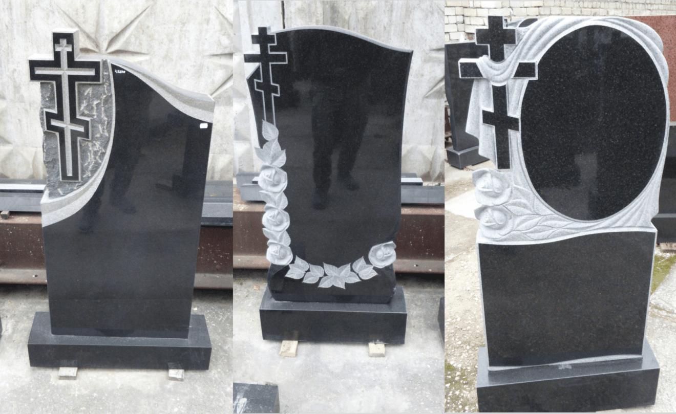 Виды памятников на могилу по материалу