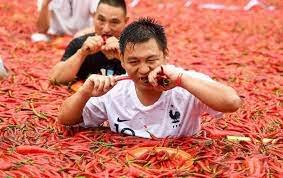 Китай самой острой едой
