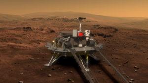 Китай в ближайшем будущем покорит Марс