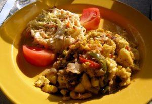 Ямайка самой острой едой