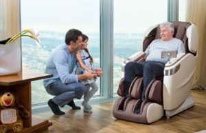 Массажные кресла - виды и особенности