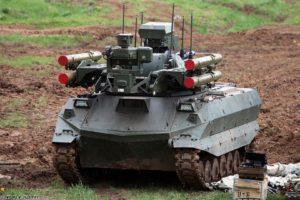 Боевые роботы Российской Федерации