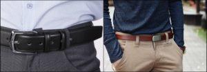 Мужские кожаные ремни виды, советы по выбору и сочетанию с гардеробом