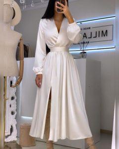 стильных фасона платьев, которые помогут скрыть живот