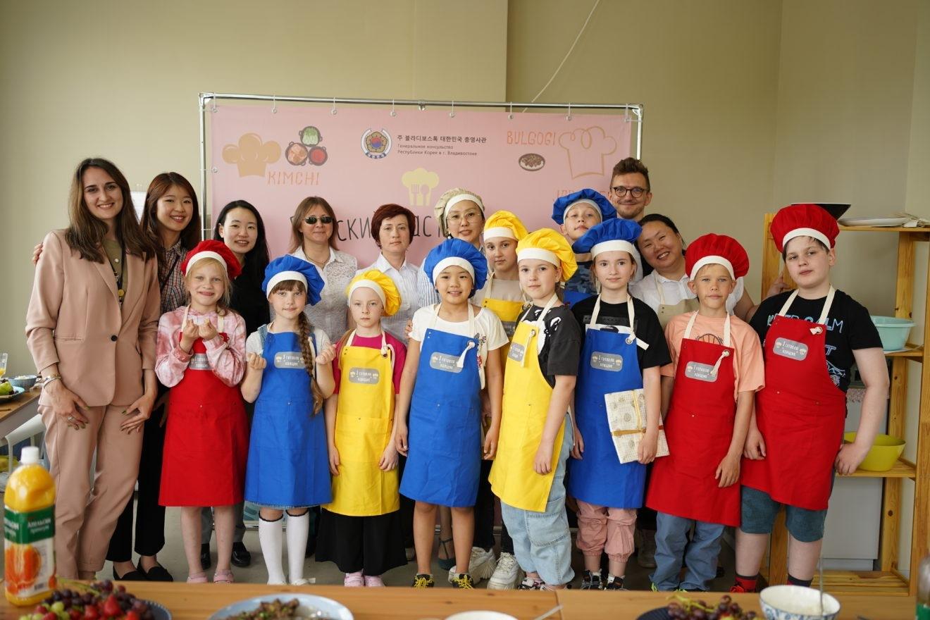 Детский мастер-класс по приготовлению блюд корейской кухни «Я готовлю ханщик»
