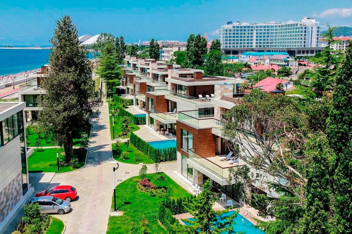 Почему стоит выбрать жилищный комплекс «Арфа-Парк» в Сочи