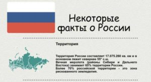 интересных фактов о России