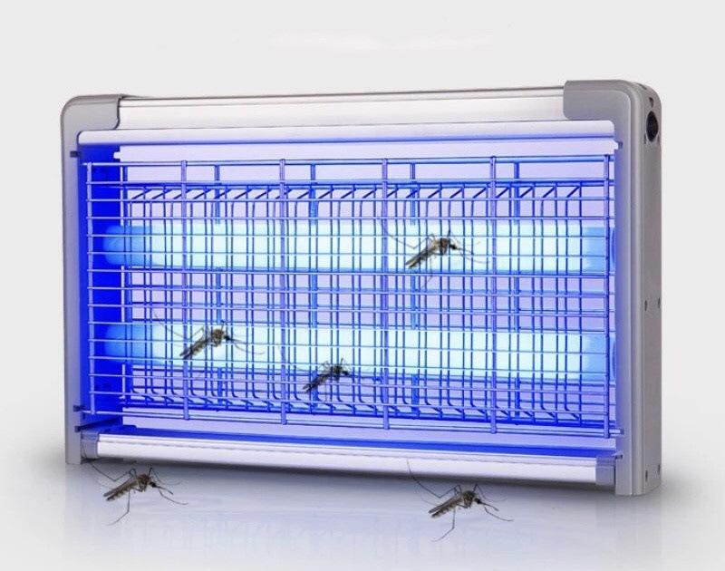 Что такое световая ловушка для насекомых и где она применяется