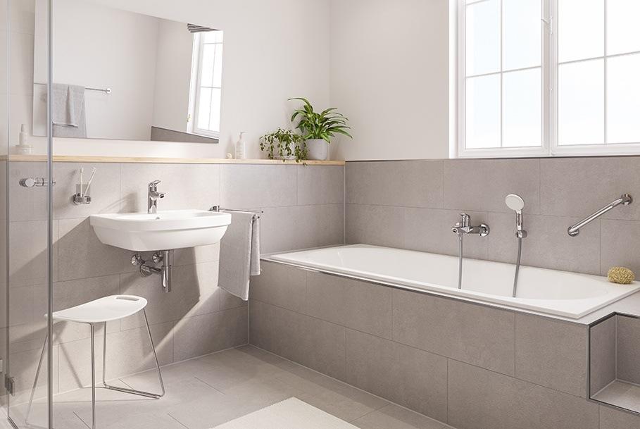 Коллекция GROHE Eurosmart: ванная комната для всех возрастов