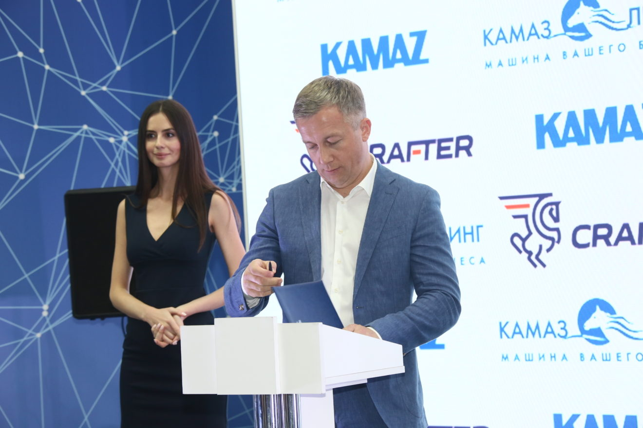 ГК «CRAFTER» приобретают 1400 КАМАЗов